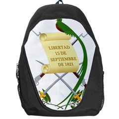 National Emblem Of Guatemala Backpack Bag by abbeyz71