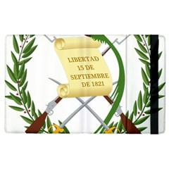 National Emblem Of Guatemala Apple Ipad 2 Flip Case by abbeyz71