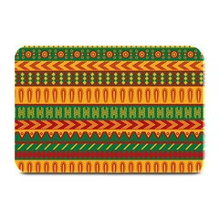 Mexican Pattern Plate Mats by Onesevenart