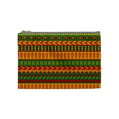 Mexican Pattern Cosmetic Bag (medium)  by Onesevenart