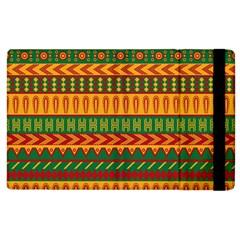 Mexican Pattern Apple Ipad 2 Flip Case by Onesevenart