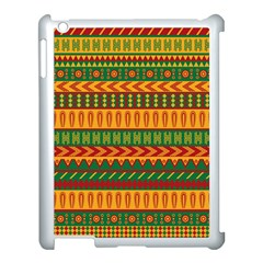 Mexican Pattern Apple Ipad 3/4 Case (white) by Onesevenart