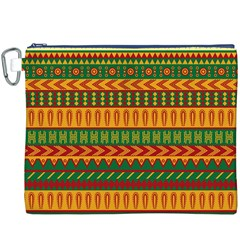 Mexican Pattern Canvas Cosmetic Bag (xxxl) by Onesevenart