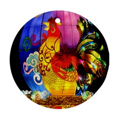 Chinese Zodiac Signs Ornament (round) by Onesevenart