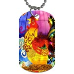 Chinese Zodiac Signs Dog Tag (Two Sides)