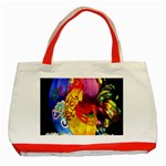Chinese Zodiac Signs Classic Tote Bag (Red)