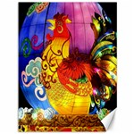 Chinese Zodiac Signs Canvas 36  x 48