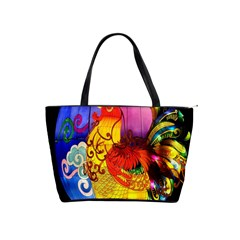 Chinese Zodiac Signs Shoulder Handbags by Onesevenart