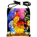 Chinese Zodiac Signs Shoulder Sling Bags
