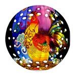 Chinese Zodiac Signs Ornament (Round Filigree)