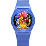 Chinese Zodiac Signs Round Plastic Sport Watch (S)