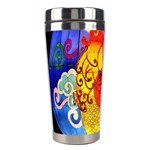 Chinese Zodiac Signs Stainless Steel Travel Tumblers
