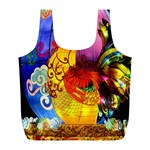 Chinese Zodiac Signs Full Print Recycle Bags (L)