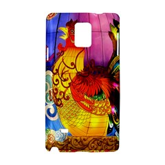 Chinese Zodiac Signs Samsung Galaxy Note 4 Hardshell Case by Onesevenart