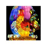 Chinese Zodiac Signs Small Satin Scarf (Square)