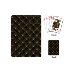 Abstract Stripes Pattern Playing Cards (mini)  by Onesevenart