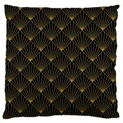 Abstract Stripes Pattern Large Cushion Case (one Side) by Onesevenart