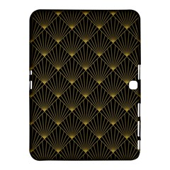 Abstract Stripes Pattern Samsung Galaxy Tab 4 (10 1 ) Hardshell Case  by Onesevenart