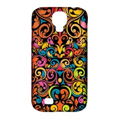 Art Traditional Pattern Samsung Galaxy S4 Classic Hardshell Case (pc+silicone) by Onesevenart