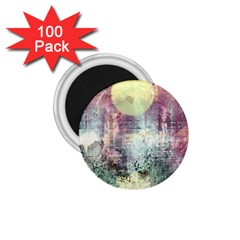 Frosty Pale Moon 1 75  Magnets (100 Pack)  by digitaldivadesigns