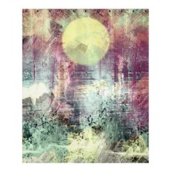 Frosty Pale Moon Shower Curtain 60  X 72  (medium)  by theunrulyartist