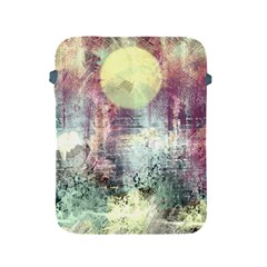 Frosty Pale Moon Apple Ipad 2/3/4 Protective Soft Cases by digitaldivadesigns