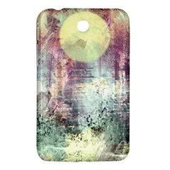 Frosty Pale Moon Samsung Galaxy Tab 3 (7 ) P3200 Hardshell Case  by theunrulyartist
