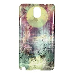 Frosty Pale Moon Samsung Galaxy Note 3 N9005 Hardshell Case by theunrulyartist