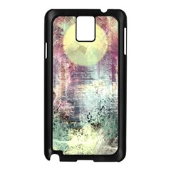 Frosty Pale Moon Samsung Galaxy Note 3 N9005 Case (black) by theunrulyartist