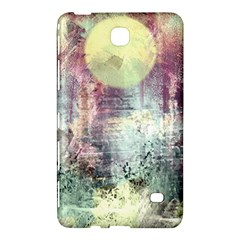 Frosty Pale Moon Samsung Galaxy Tab 4 (8 ) Hardshell Case  by theunrulyartist