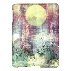 Frosty Pale Moon Samsung Galaxy Tab S (10 5 ) Hardshell Case  by digitaldivadesigns