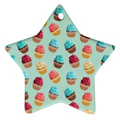Cup Cakes Party Ornament (star) by tarastyle