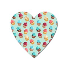 Cup Cakes Party Heart Magnet by tarastyle