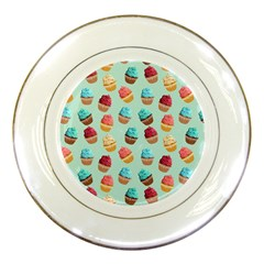 Cup Cakes Party Porcelain Plates by tarastyle