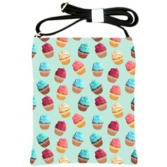 Cup Cakes Party Shoulder Sling Bags by tarastyle