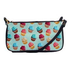 Cup Cakes Party Shoulder Clutch Bags by tarastyle