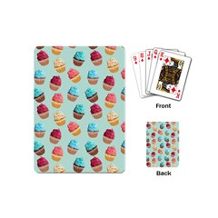 Cup Cakes Party Playing Cards (mini)  by tarastyle