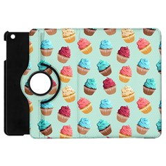 Cup Cakes Party Apple Ipad Mini Flip 360 Case by tarastyle