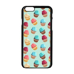 Cup Cakes Party Apple Iphone 6/6s Black Enamel Case by tarastyle