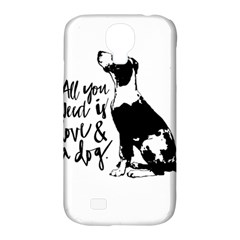 Dog Person Samsung Galaxy S4 Classic Hardshell Case (pc+silicone) by Valentinaart