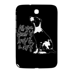Dog Person Samsung Galaxy Note 8 0 N5100 Hardshell Case  by Valentinaart