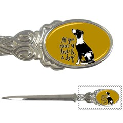 Dog Person Letter Openers by Valentinaart