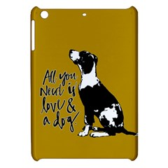 Dog Person Apple Ipad Mini Hardshell Case by Valentinaart