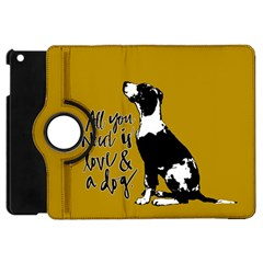 Dog Person Apple Ipad Mini Flip 360 Case by Valentinaart