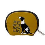 Dog person Accessory Pouches (Small)  Back