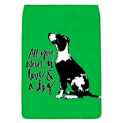 Dog Person Flap Covers (s)  by Valentinaart