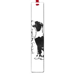 Dog Person Large Book Marks by Valentinaart