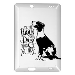 Dog Person Amazon Kindle Fire Hd (2013) Hardshell Case by Valentinaart