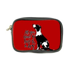 Dog Person Coin Purse by Valentinaart