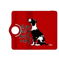 Dog Person Kindle Fire Hdx 8 9  Flip 360 Case by Valentinaart